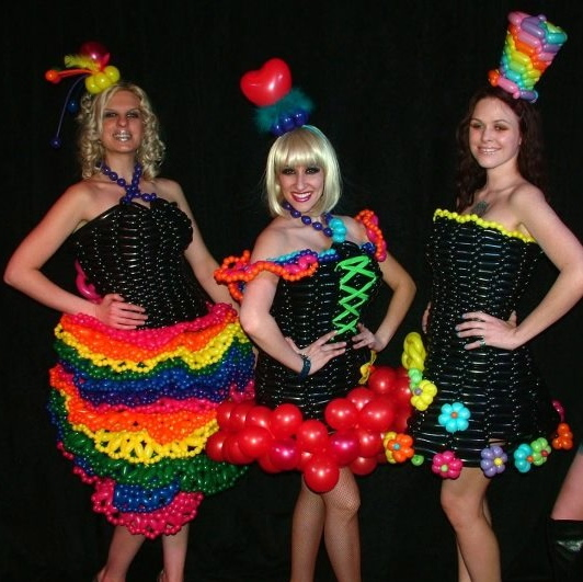balloon dresses