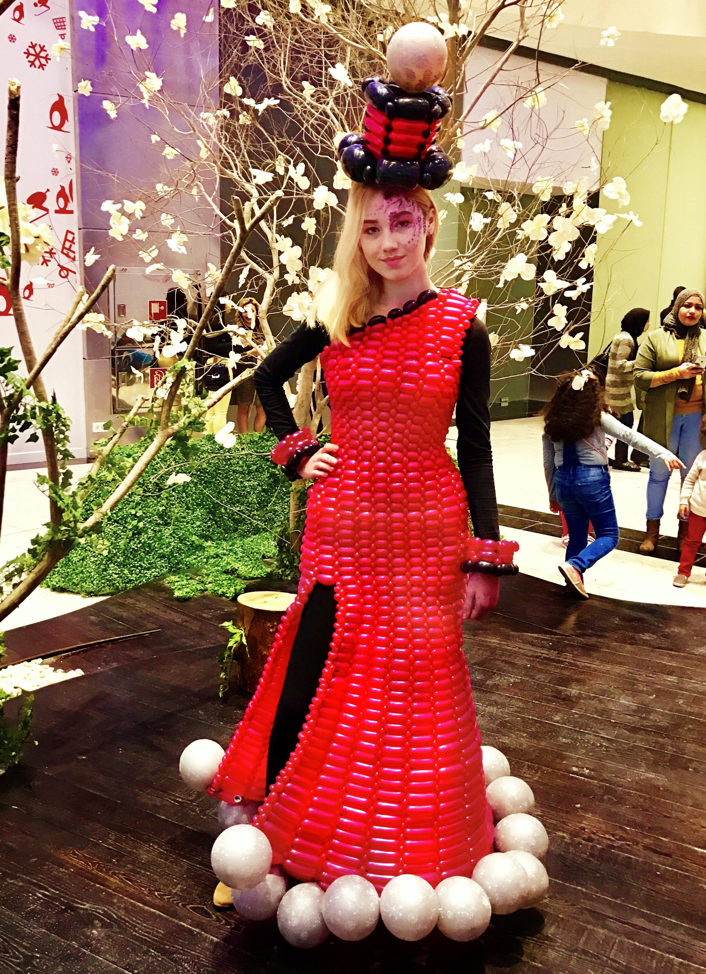 fc2c892a3 Red balloon dress - Balloon Dress