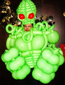 Balloon monster costumes