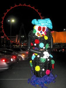 Balloon costume for the linq