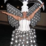 showgirl Balloon Dress