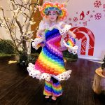 rainbow Balloon Dress