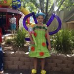 Tinkerbell balloon costume