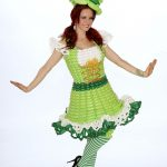 St. Patty's balloon costume