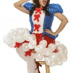 patriotic balloon costume