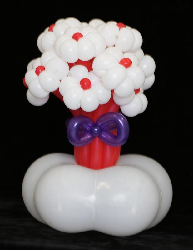 Balloon Flower Bouquet - Balloon Dress