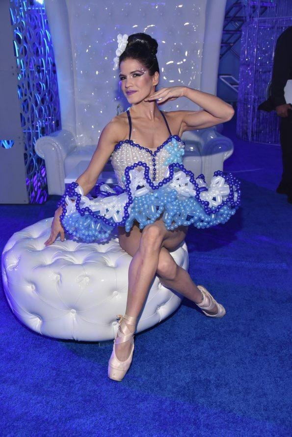 Ballerina Balloon dress