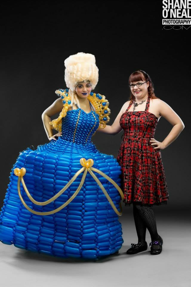 Circus Couture Full Marie Antoinette Dress 10/5/14