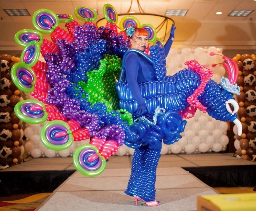 balloon costume contest winner