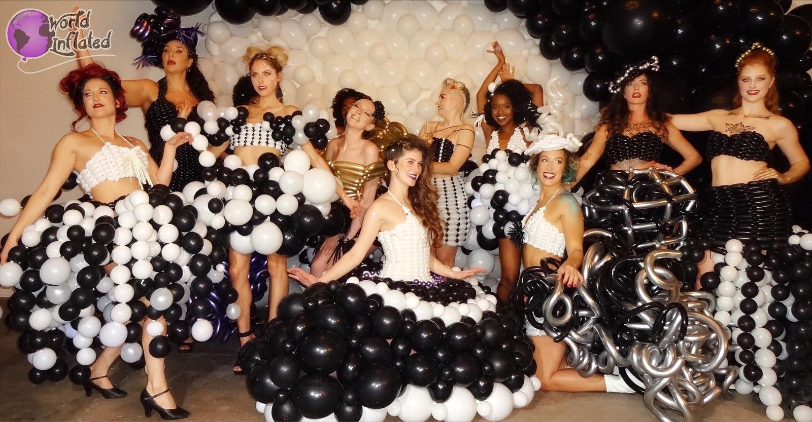 Balloon Fashion Show in Kansas City